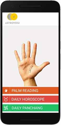 Palm Reading App Download Free Palmistry App By Astroyogi Com