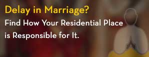 Delay in Marriage?  Find How Your Residential Place is Responsible for It