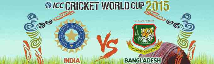 India vs Bangladesh - ICC World Cup 2015 Astrology Prediction