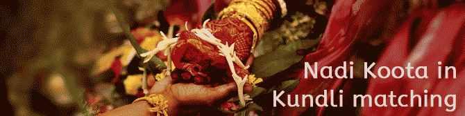 Kundli match Making pour le mariage
