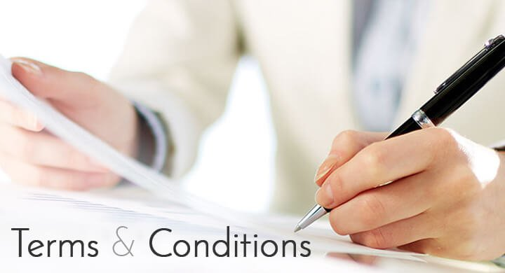 Term and condition