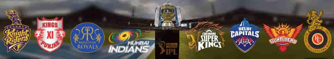 ipl teams - आईपीएल टीमें
