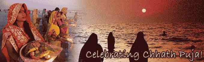 Celebrating Chhath Puja