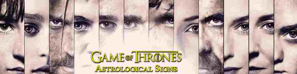 Pick Your Sign, The Game of Thrones Way
