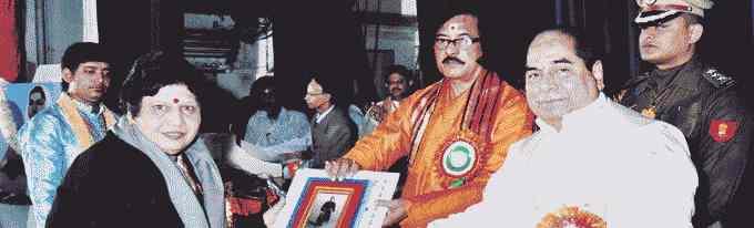 Anita Nigam awarded Swami Vivekananda Award