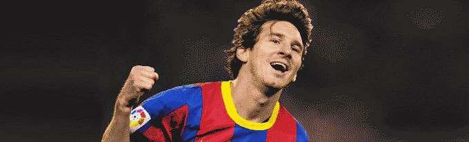 Soccer`s Supertar Lionel Messi