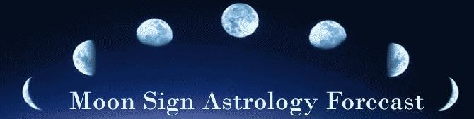 Moon Sign Astrology Forecast (April 2010)