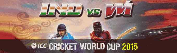 India vs West Indies - ICC World Cup 2015 Astrology Prediction