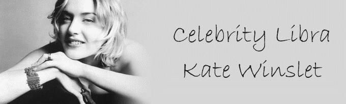Celebrity Libra: Kate Winslet