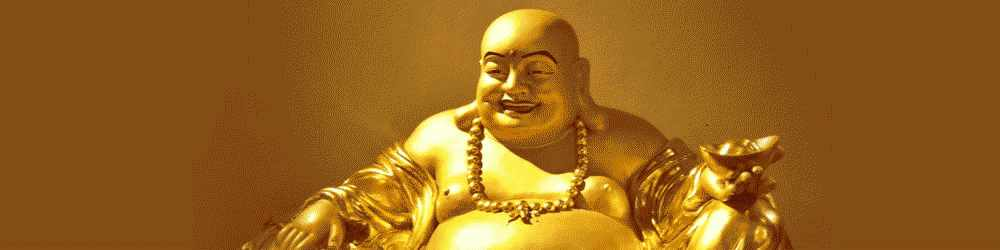 Laughing Buddha - Symbol of happiness and prosperity