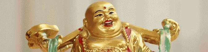 What is with this laughing Budha