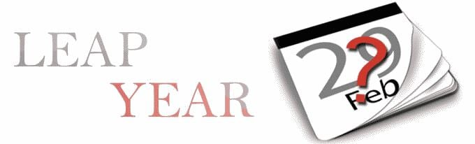 Leap year forecast