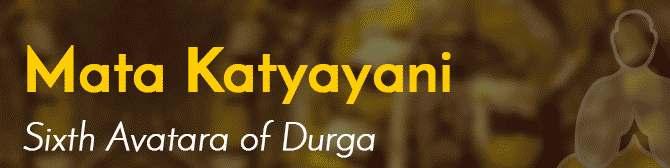 Maa Katyayani - 6th Day of Navratri