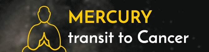 Mercury Transit in Cancer