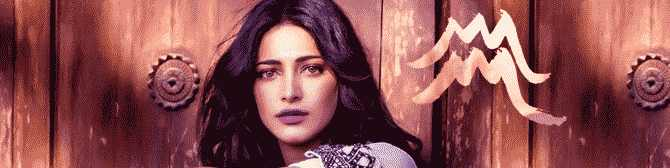 Shruti Haasan Is Stunning And Flamboyant, After All She Is An Aquarian