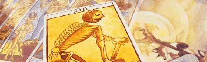Tarot card: Death card