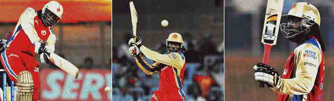 The Gayle storm hits IPL